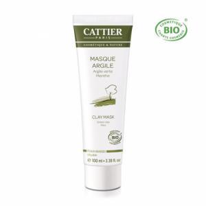 Masque Argile verte bio - Peaux grasses 100ml
