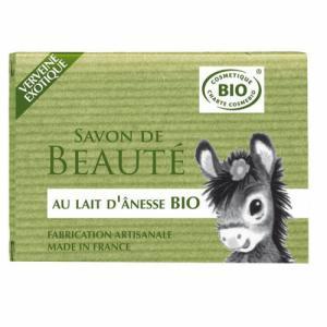 Savon au lait d'anesse bio Verveine 100g