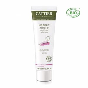 Masque Argile rose bio - Peaux sensibles 100ml