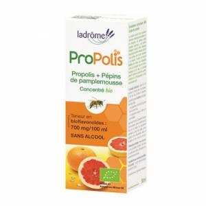 Concentré Propolis et Pépins de pamplemousse bio sans alcool 50ml