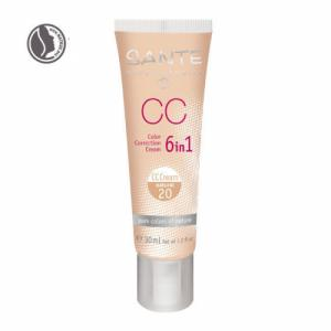 CC Crème bio correctrice 6 en 1 Natural n°20 - Tube 30ml