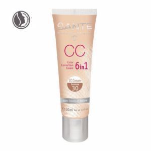 CC Crème bio correctrice 6 en 1 Bronze n°30 - Tube 30ml