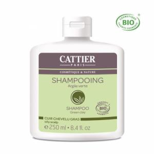 Shampoing Cheveux gras bio Argile verte 250ml