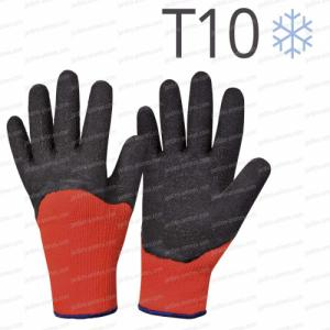 Gants chauds jardin hiver T10