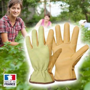 Gants en cuir - fabriqué en France