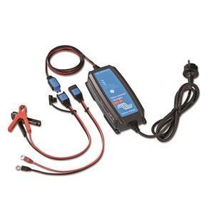 Chargeur de batterie 12V IP65 1 sortie plusieurs connecteurs Victron Blue Power