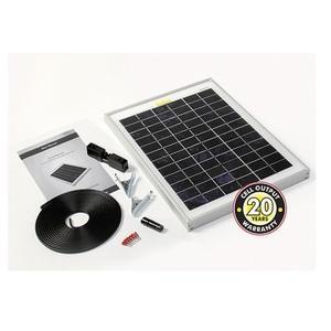Panneau solaire 10 Wc Monocristallin Solar Technology avec câbles