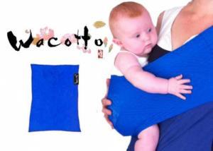 Porte-bébé Sling Tube WACOTTO Bleu électrique
