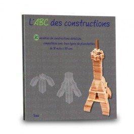 Livre ABC constructions avec des Planchettes