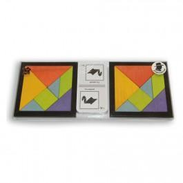 Tangram speed coloré pour 2 joueurs
