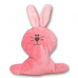 Doudou petit Lapin rose bonbon