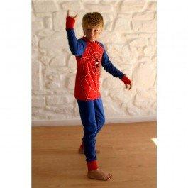 Déguisement pyjama Super Héros Spider Hiver