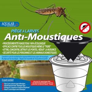 Piège anti larves de moustiques Aqualab bio
