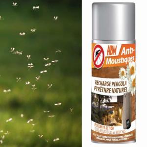 Recharge pyrèthre diffuseur Anti-Moustiques extérieur 250ml