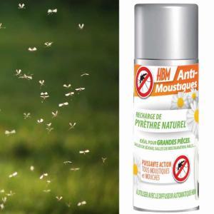 Recharge pyrèthre diffuseur Anti-Moustiques intérieur 150ml