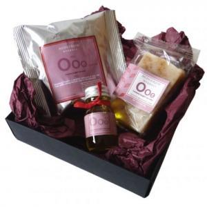 Coffret de soins Ooo Sensuel, soins naturels - Simply Soap, Angleterre