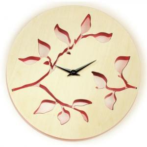 Horloge murale en érable