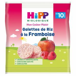 HiPP Galettes de Riz Framboise dès 10m