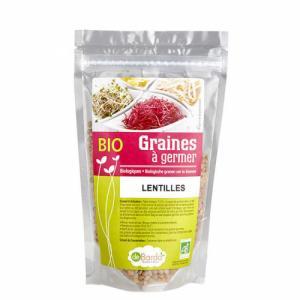 Graines à germer bio Lentilles Roses