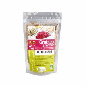 Graines à germer alfalfa radis bio