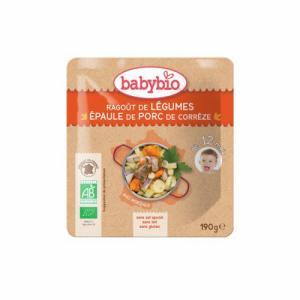 Babybio Sachet menu du Jour 12 mois