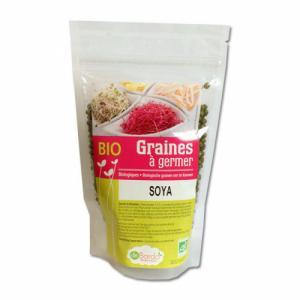 Graines à germer Soja bio