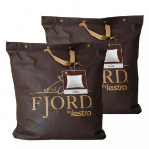 Lot 2 oreillers Lestra Fjord Cristal Dimensions 50x70