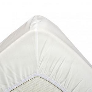 Housse de couette percale coton bio Nicole Germain Couleur Blanc Dimensions 240x220