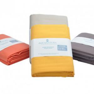 Housse de couette coton bio Aquanatura Couleur coton naturel Dimensions 240x220