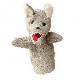 Doudou marionnette Loup