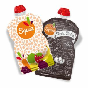 2 gourdes Fruits Couleur SQUIZ 130ml