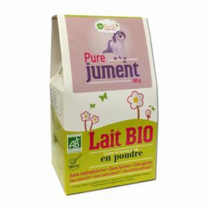 Lait 100% Jument Bio 180g