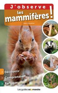 J'observe les mammifères