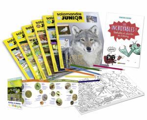 La Salamandre Junior   Explos (8-12 ans), abonnement 1 an