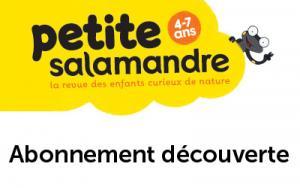 Abonnement découverte à La Petite Salamandre (4-7 ans), 6 mois