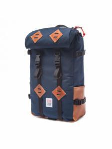 Sac à dos Klettersack Leather - Navy - Topo Designs