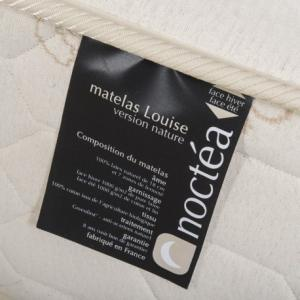 Matelas Louise latex naturel Dimensions 90x190 Version Prestige