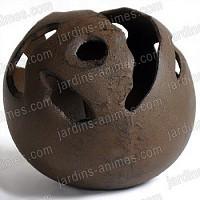 Contenant boule en fonte à garnir diam.25cm