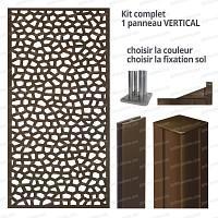 Kit Panneau décoratif MOSAIC vertical 1m x 2m en résine haute qualité
