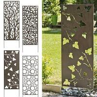 Panneau décoratif en métal 0.6m x 1.5m
