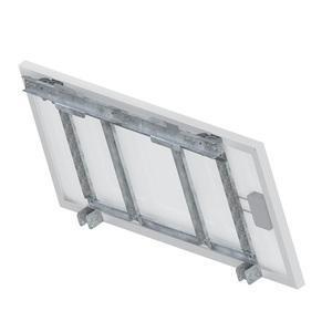 Support panneau pour montage sol-mur-mât Unifix100