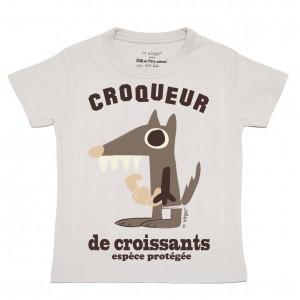 T-shirt Loup
