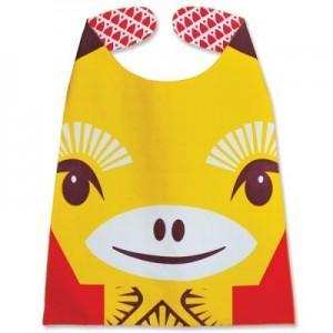 Grande serviette mibo girafe