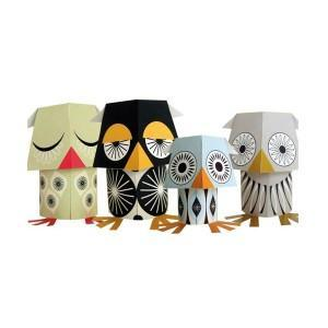 Paper toys - The wises guys
