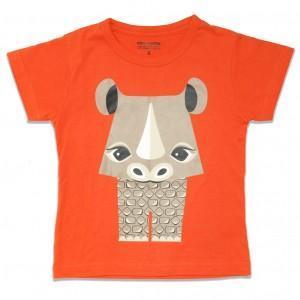 T-shirt SOS rhinocéros