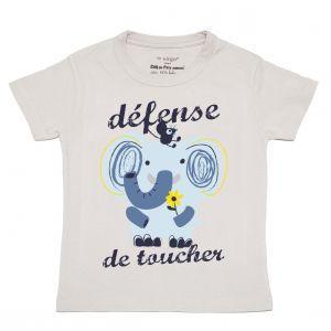T-shirt gris éléphant