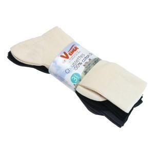 Lot chaussettes coton bio
