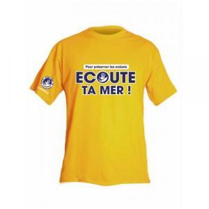 Tee Shirt Homme Ecoute Ta Mer