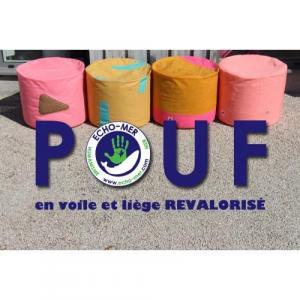 Pouf Liège Voile
