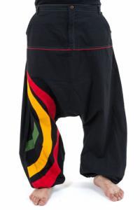 Sarouel grande taille homme arc en ciel tricolore reggae